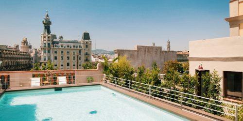piscina de terraza